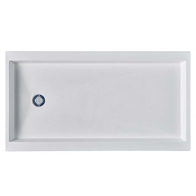 Double Threshold Replacement Shower Pan