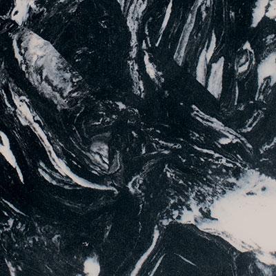 107 White Vein on Black